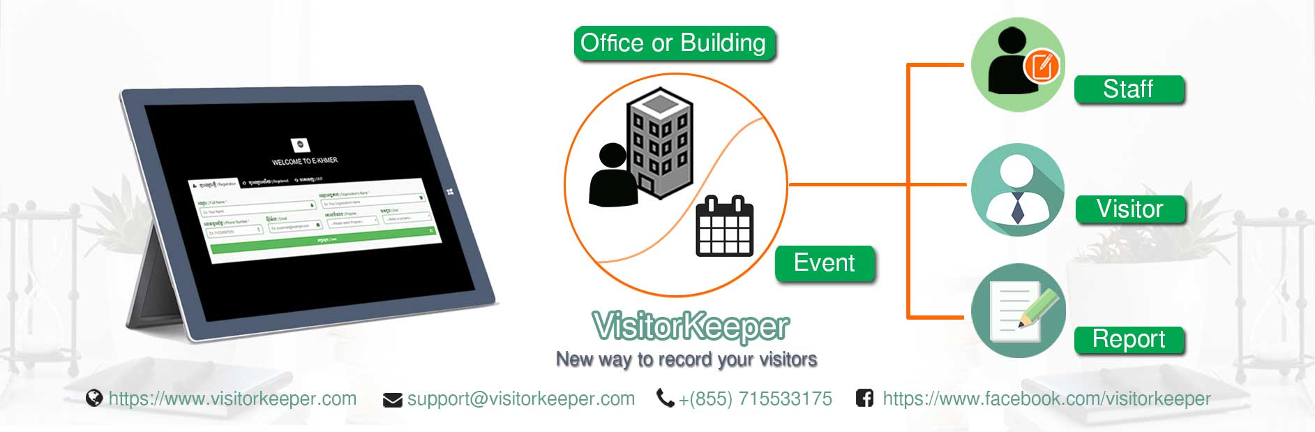 Visitor Keeper